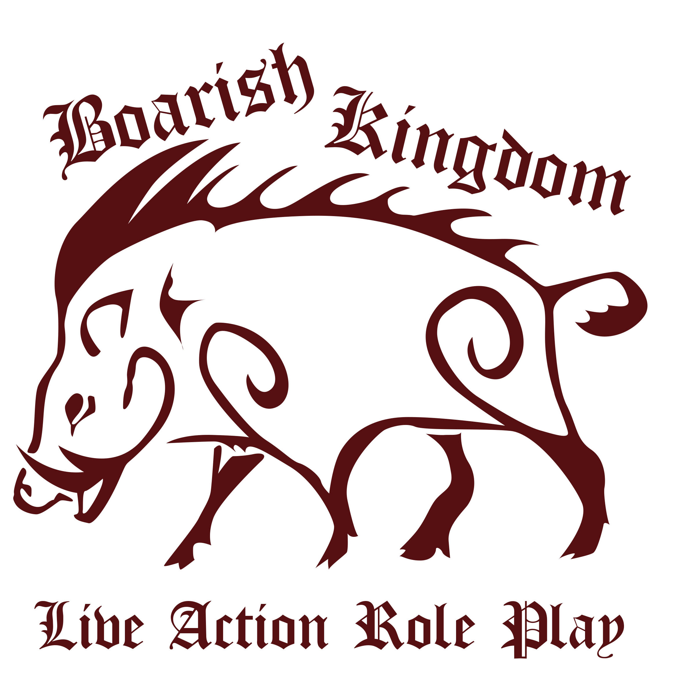 Boarish Kingdom Logo